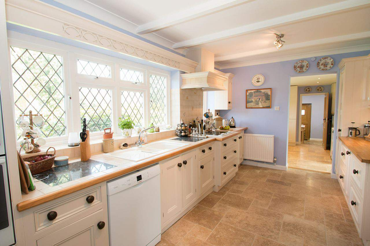 Bright Kitchen and Workshop