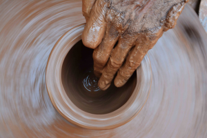sediment traps for pottery studios