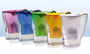 Magnesium Filter Jug Colour Options